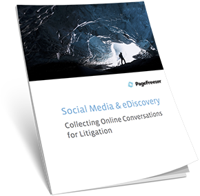 Social Media & eDiscovery: Collecting Online Conversations for Litigation