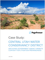 Case Study Central Utah Water Conservancy District
