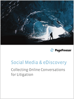 Collecting Online Conversations for Litigation