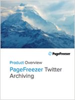 PageFreezer for Twitter Archiving